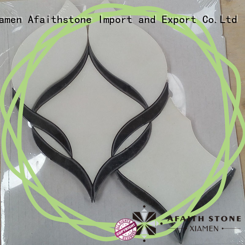 Afaithstone waterjet tile directly sale for mall