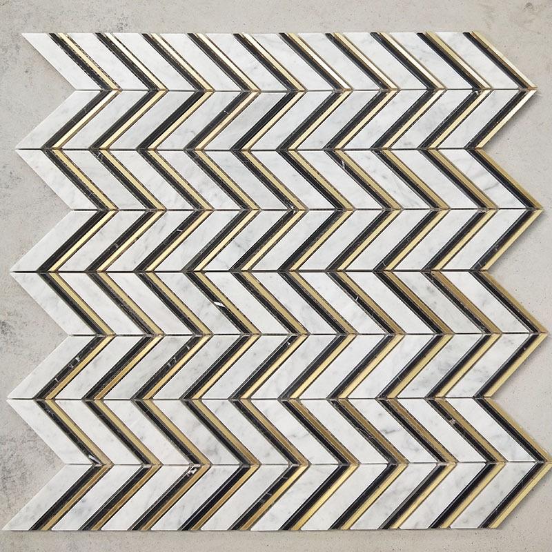 Chevron Mosaics/Fish Scale Mosaics