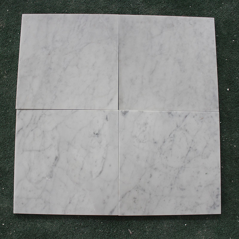 Marble tile ,Carrara White , Field tile