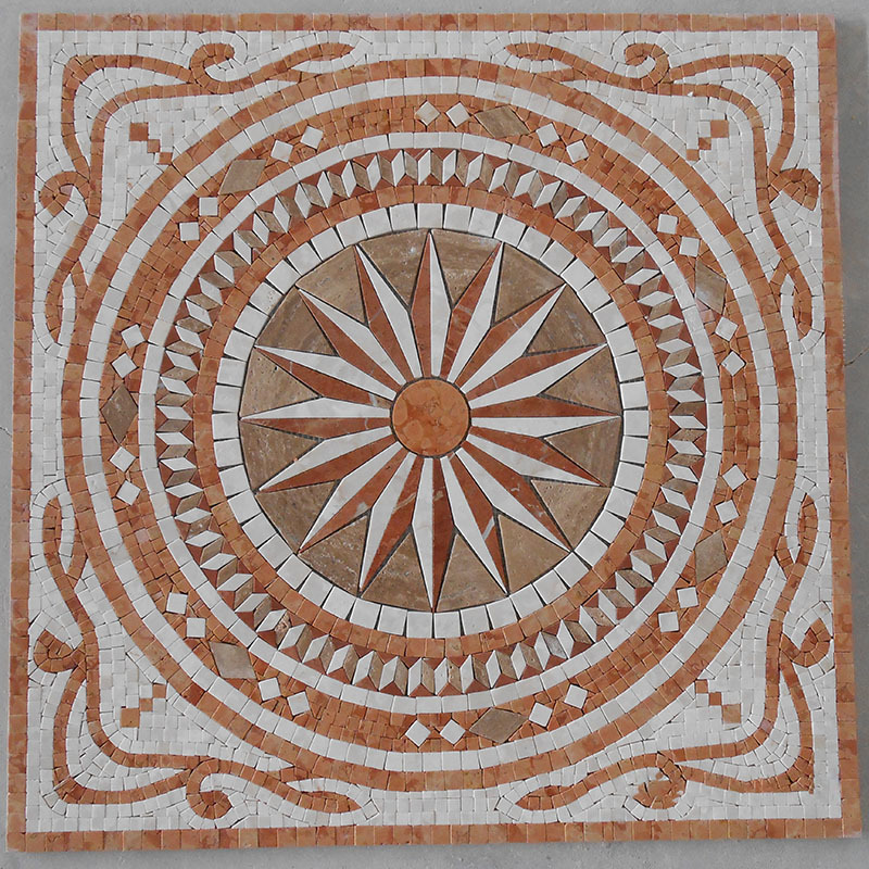 Marble medallion, floor medallion