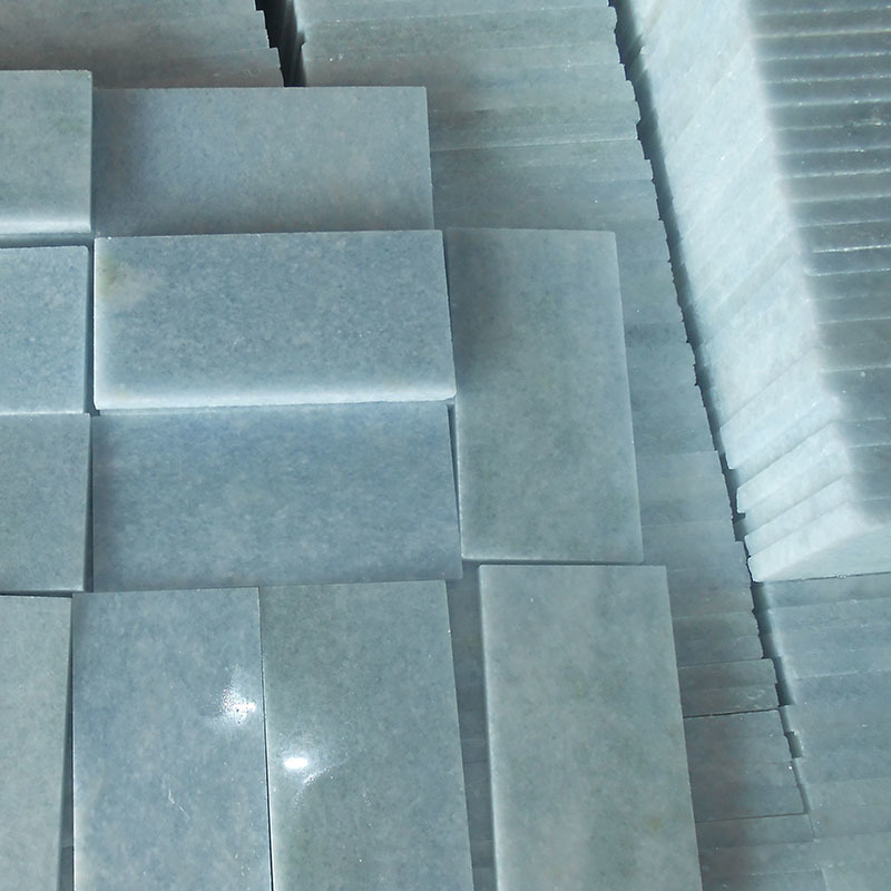 Blue celeste marble tile Polished finish