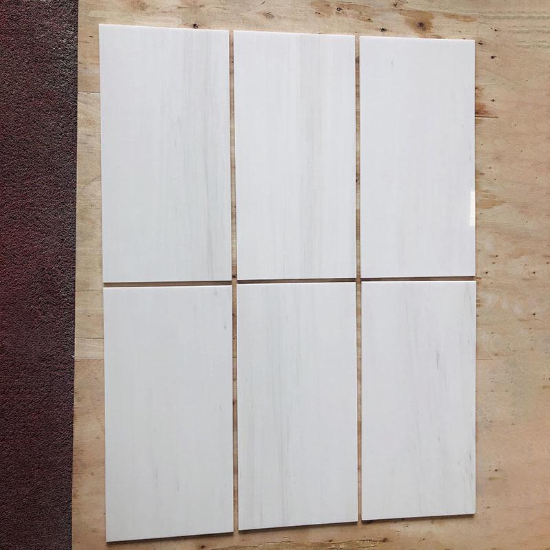 Dolomite white marble tile