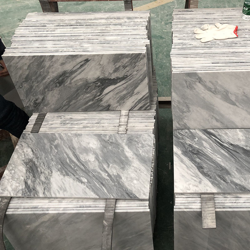 Italy Bardiglio marble tile
