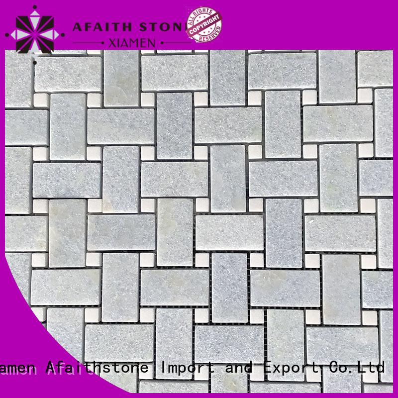 Afaithstone quality decorative mosaic tile factory for Villa