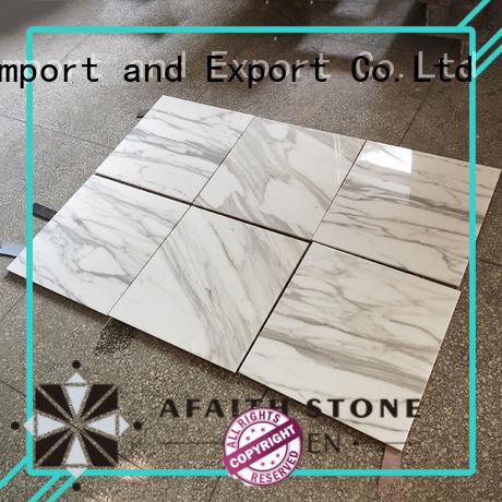 firing calacatta marble directly sale for Villa