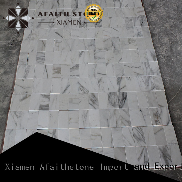Afaithstone calacatta marble gold free sample for hotel