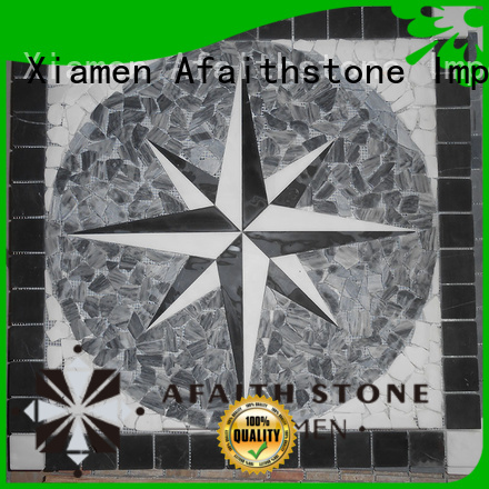 Afaithstone excellent tile medallions free sample for toilet