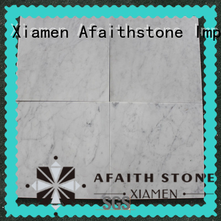 long lasting white carrara marble supplier for exterio wall