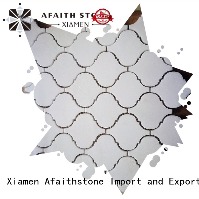 Afaithstone patterned floor tiles factory for Villa