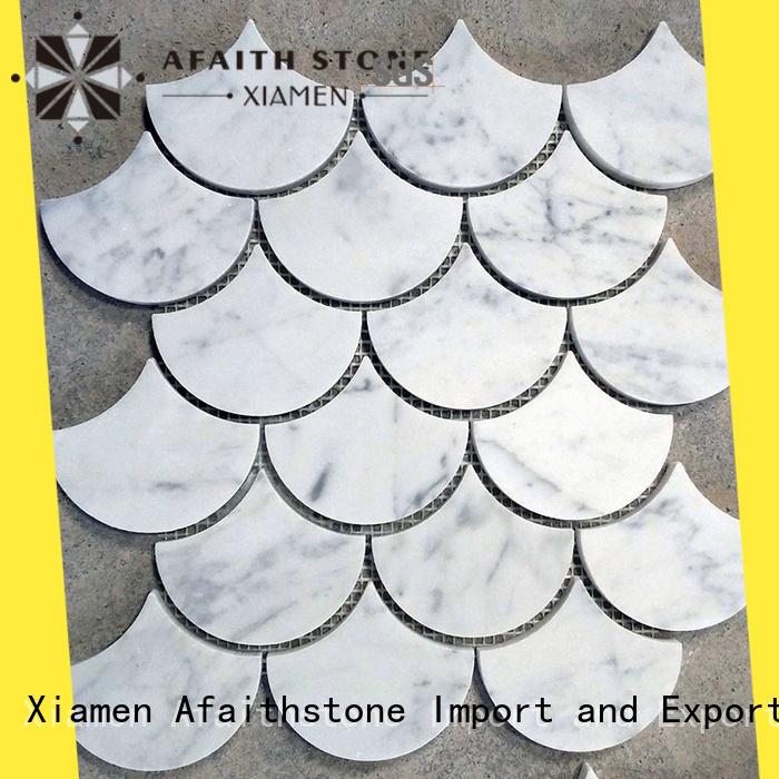 Afaithstone decorative mosaic tile factory for restaurant