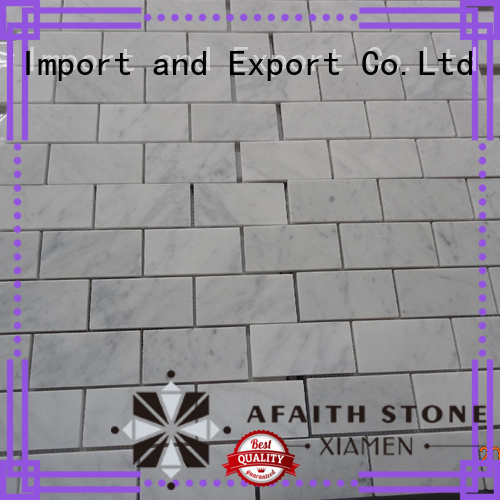 Afaithstone hot selling carrara marble tile factory for Villa