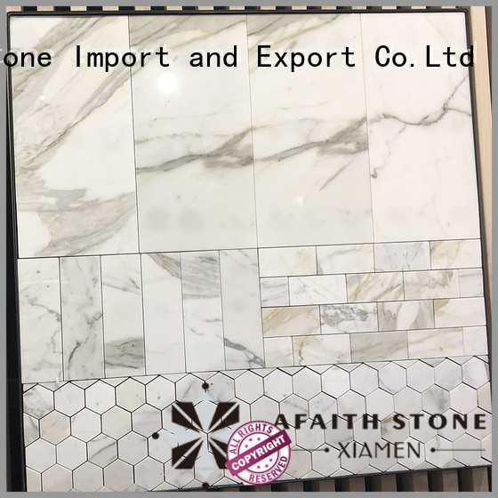 Afaithstone high-quality calacatta marble gold directly sale for hotel
