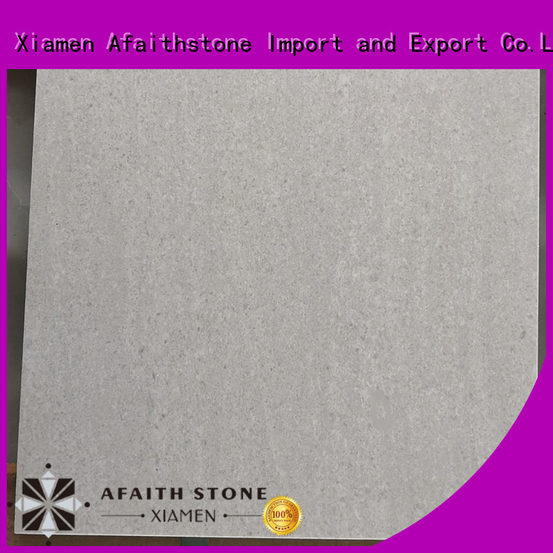 Afaithstone top quality white floor tiles wholesale for swimming pool
