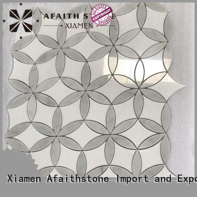 Afaithstone patterned floor tiles wholesale for living room