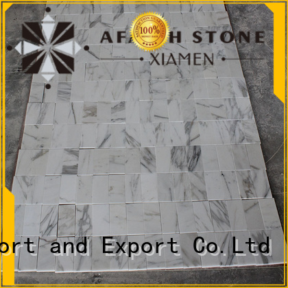 Afaithstone gold marble free sample for mall