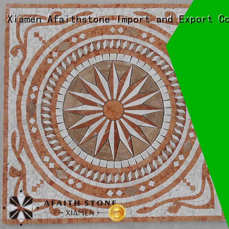 Afaithstone elegant tile medallions best price for toilet