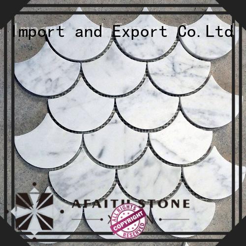 popular carrara marble tile wholesale for kitchen