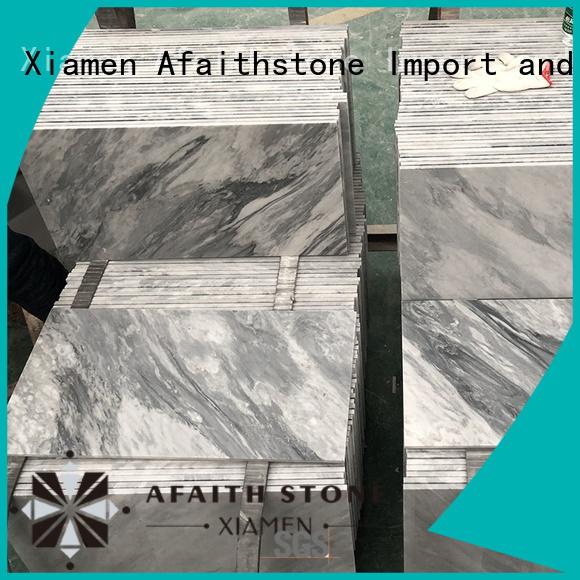Afaithstone bardiglio marble supplier for garden