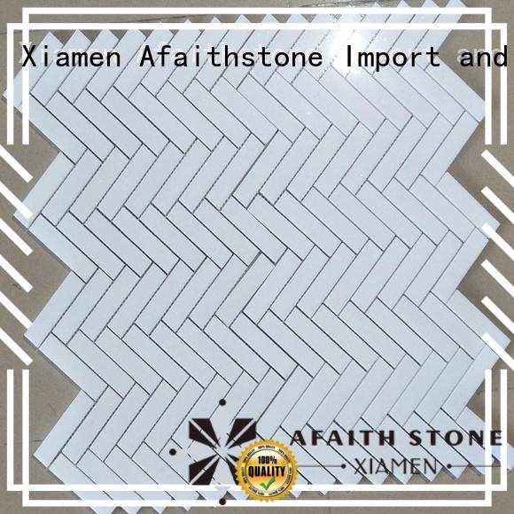 Afaithstone thassos white marble supplier for bathroom