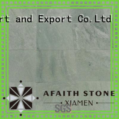 Afaithstone white floor tiles supplier for swimming pool